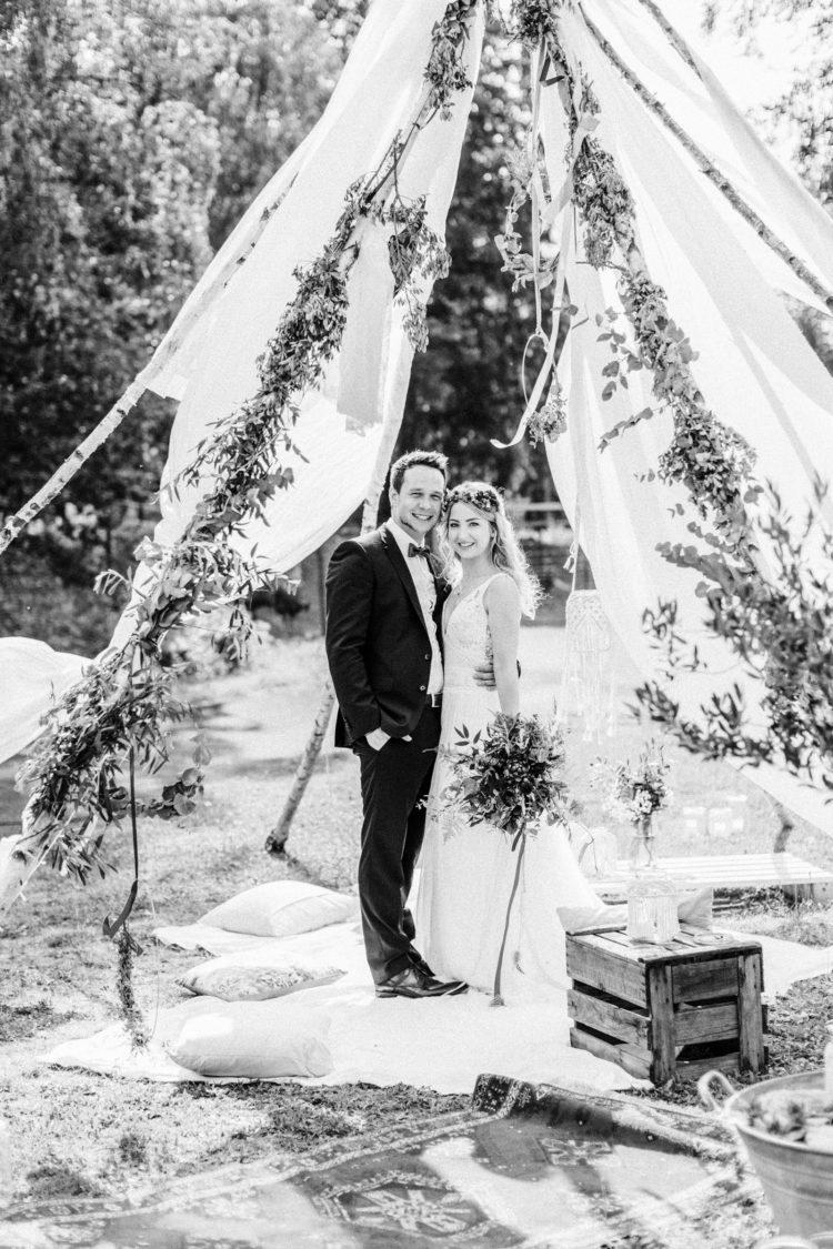 Freie Trauung Boho Hochzeit Fine Art Hochzeitsfotografie Fine Art Wedding photography