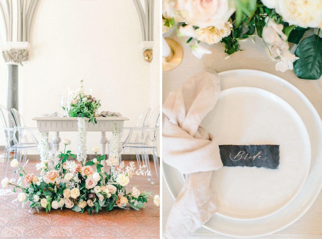 Ewigmein Fine Art Hochzeitsfotografie Tischdekoration Inspiration hochzeit Rosen Schlosshochzeit