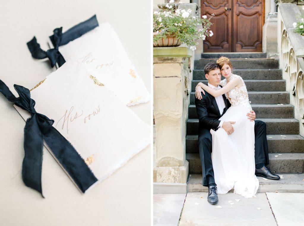 Daalarna Couture Ewigmein Fine Art Hochzeitsfotografie Vow Gelübde Brautpaarshooting Schlosshochzeit