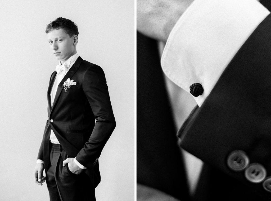 Ewigmein Fine Art Hochzeitsfotografie Hochzeit Bräutigam portrait schlosshochzeit stilvoll modern zeitlos