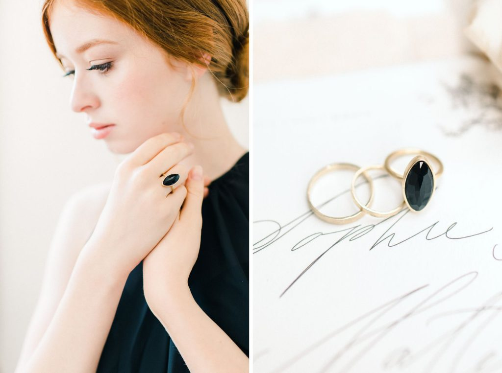 Ewigmein Fine Art Hochzeitsfotografie Hochzeit Verlobungsshooting goldene Eheringe modern stilvoll luxury