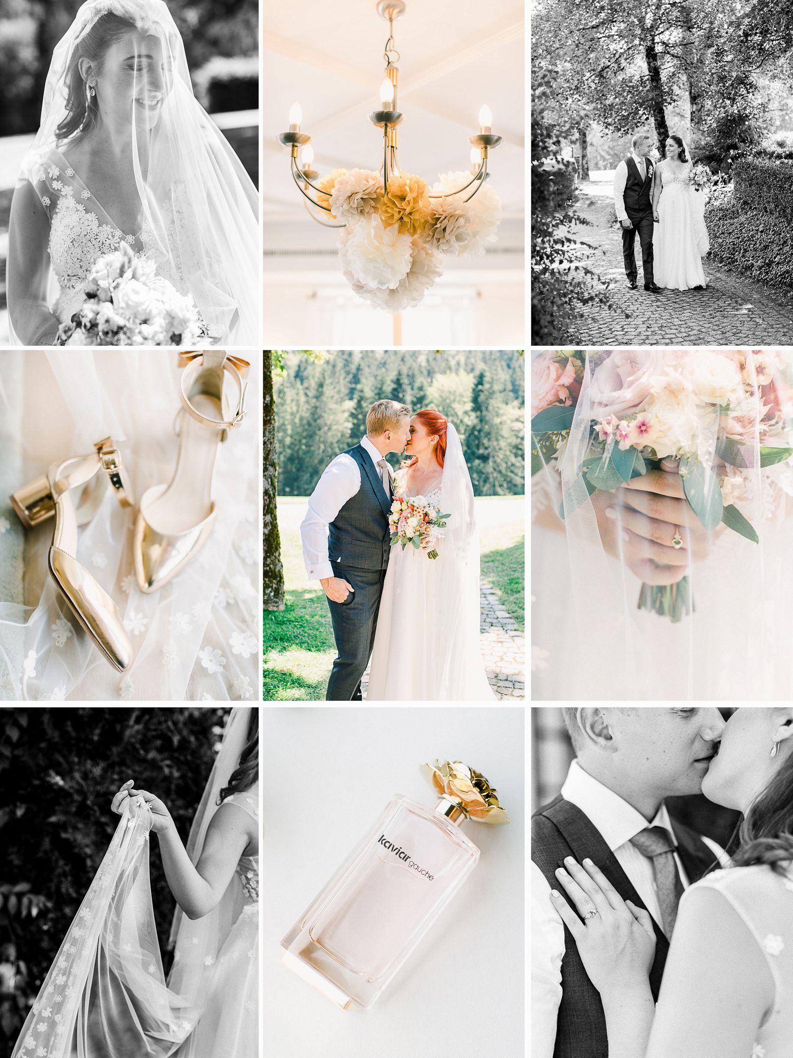 hochzeit Tegernsee heiraten im Margarethenhof im Kaviar Gauche Hochzeitskleid